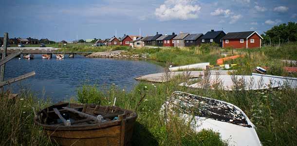 Gotlannin saari tunnetaan idyllisistä kylistään