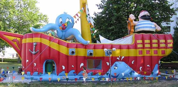 Leikkipuisto Albenassa