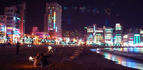 Busanin öinen ranta