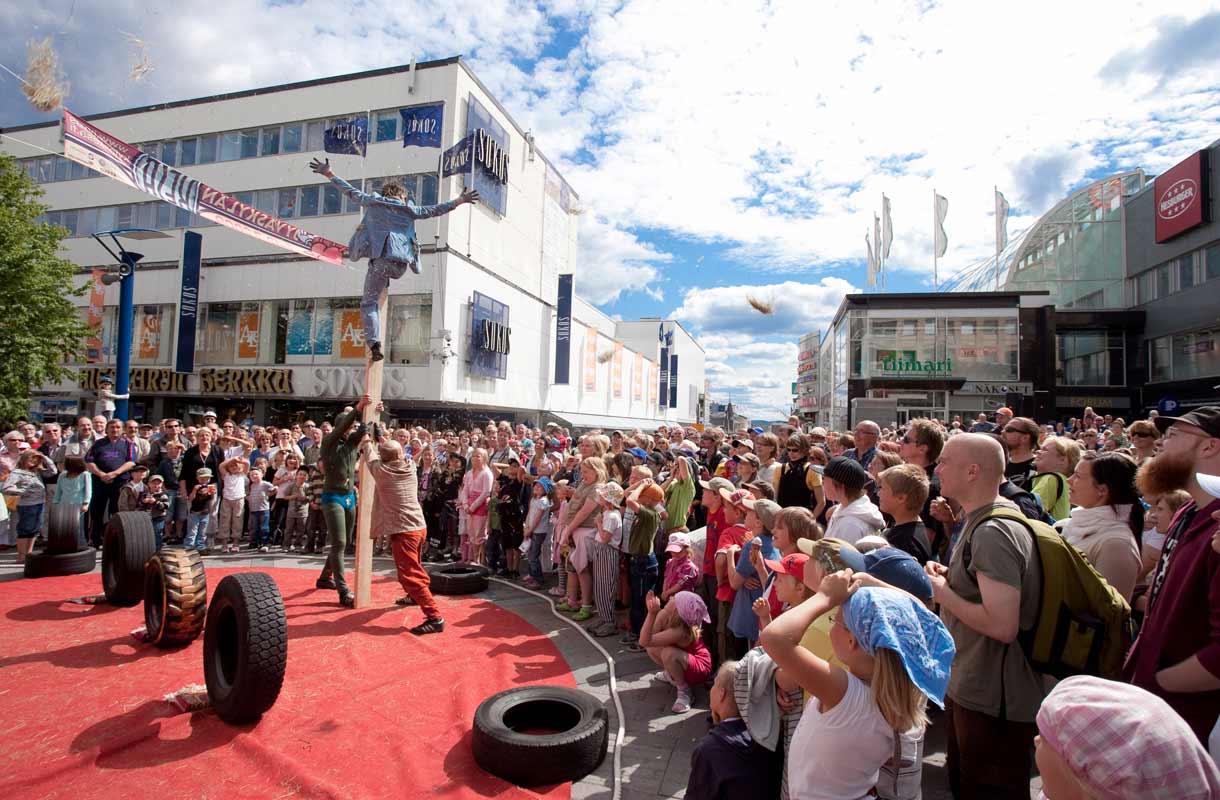 Jyväskylän kesä on täynnä tapahtumia.