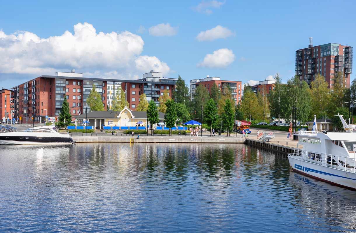Jyväsjärvi on Jyväskylän sydän.