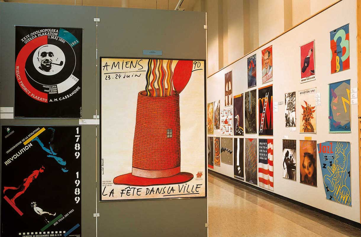 Lahden taidemuseon näyttelyt ovat vaihtuvia.
