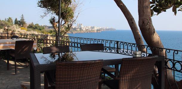 Näkymä Välimerelle Antalyassa