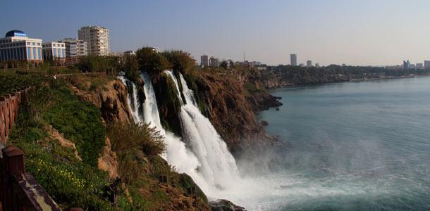 Düdenin putoukset Antalyassa