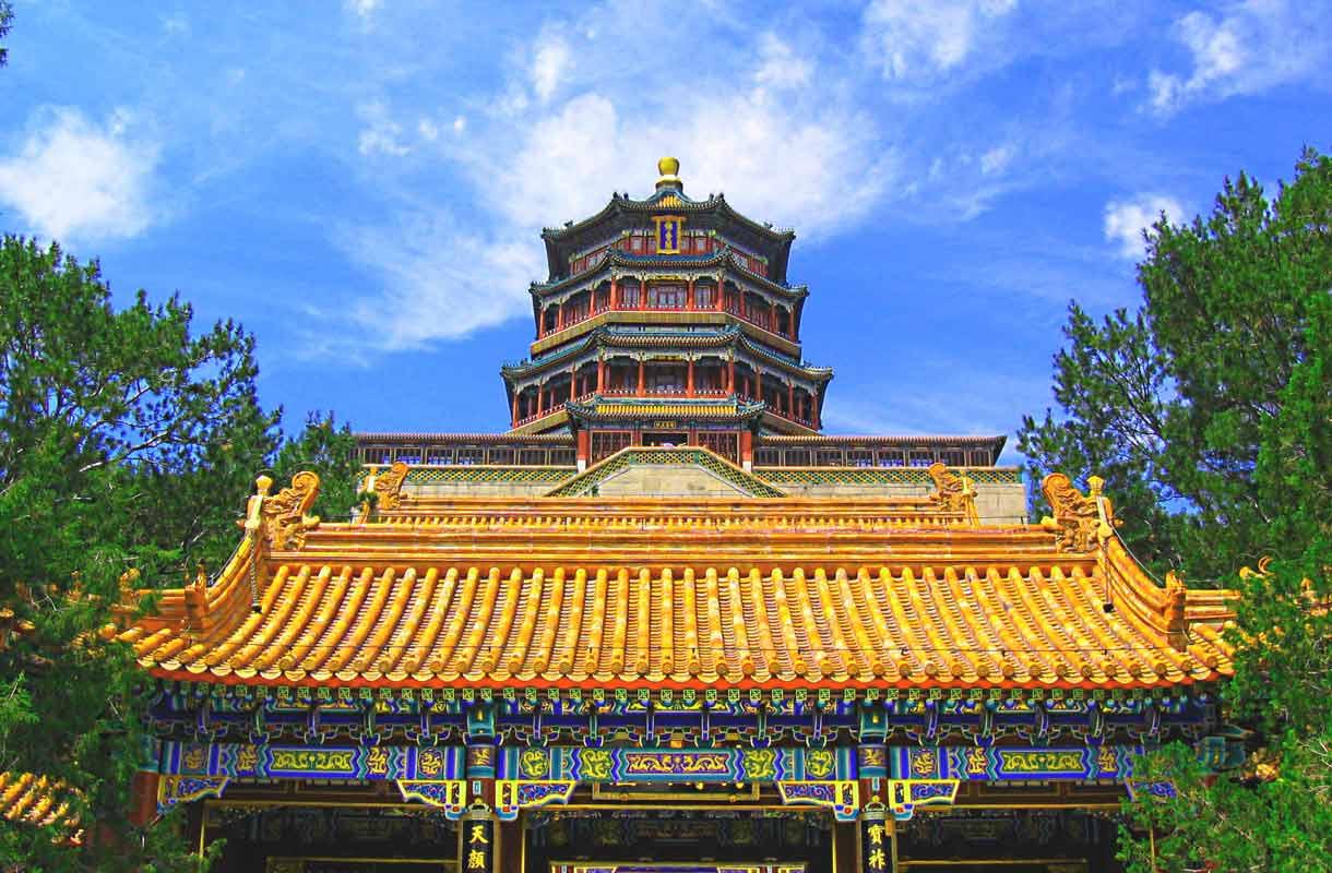 Pekingin-matkalla kannattaa vierailla Kesäpalatsissa.
