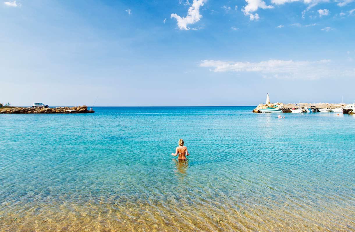 Uimari Kyproksella