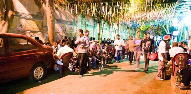 Katukahvila Kairossa