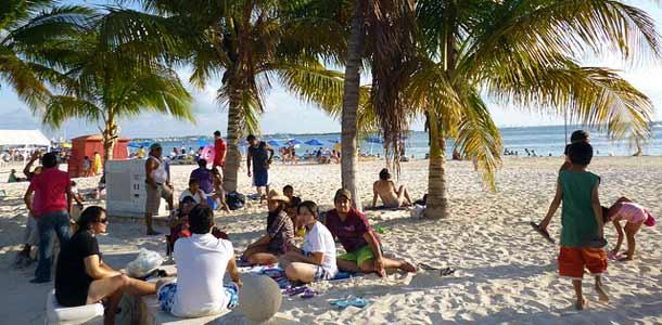 Cancun matkakohteena