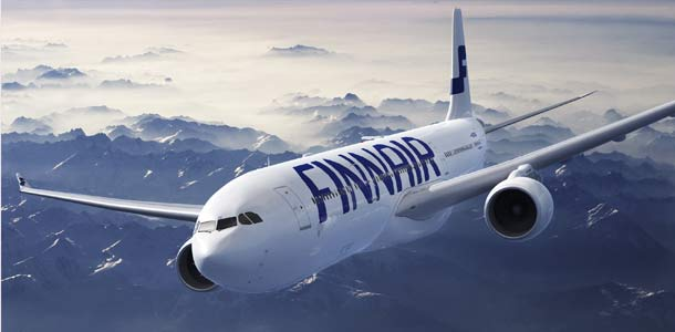 Finnairin kone matkalla
