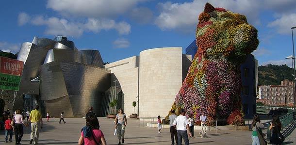 The Puppy -taideteos Bilbaossa