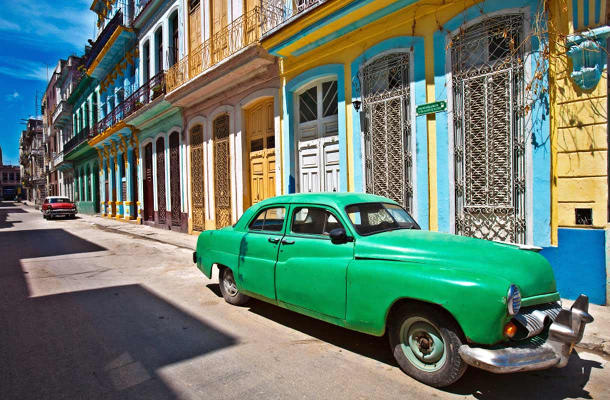Havannan vanhat autot