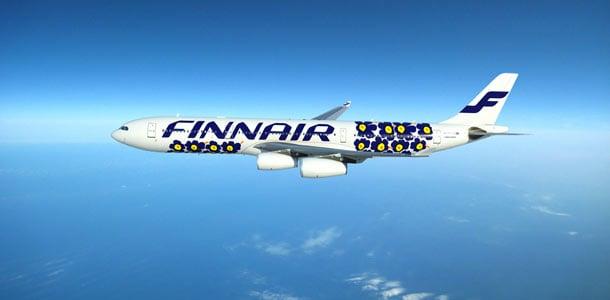 Finnairin koneet saivat Unikko-kuosin