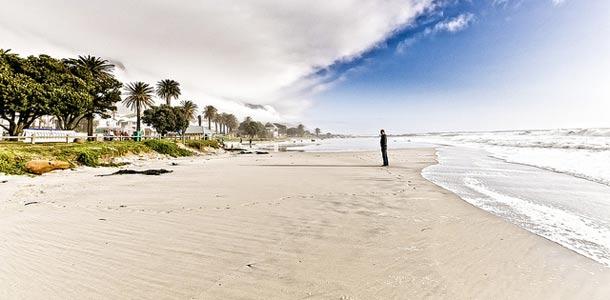 Hienoa hiekkaa Kapkaupungissa