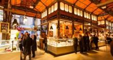 Madridin kuuluisa kauppahalli