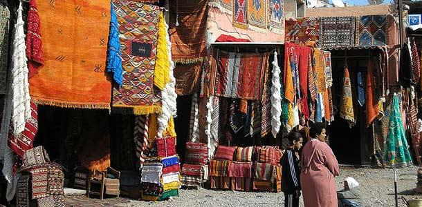 Marrakechin markkinat