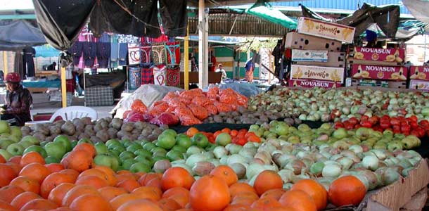 Namibialaiset markkinat
