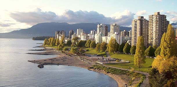 Vancouver on vehreä suurkaupunki