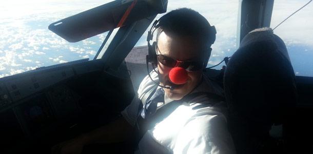 Lentäjätkin hassuttelivat Finnairin nenälennolla