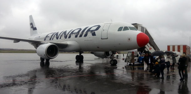 Finnair lensi hyväntekeväisyyslennon Lontooseen