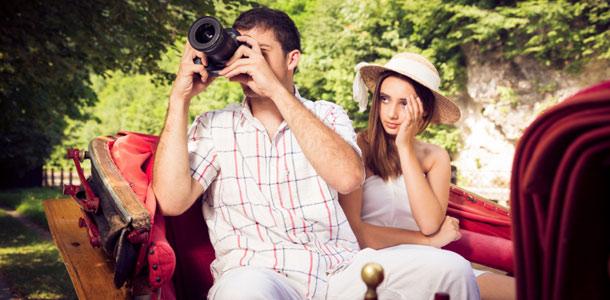Valokuvaaja matkalla