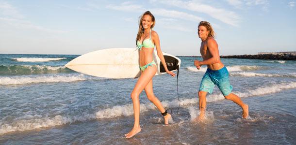 Surffaajat Espanjassa
