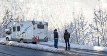 Viisi vinkkiä matkailuautoiluun Alpeilla