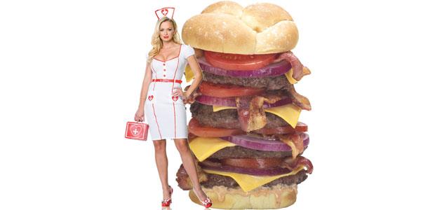 Las Vegasin Heart Attack Grill on matkailijan terveysriski