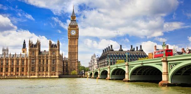 Big Ben ja Thames-joki Lontoossa
