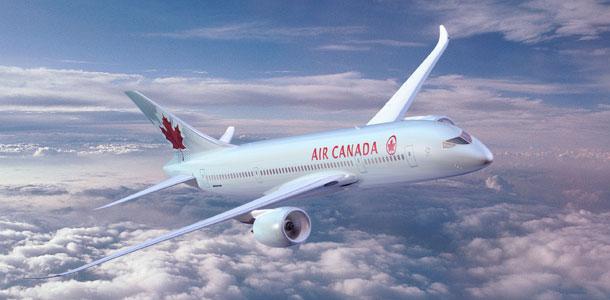 Air Canadan lentokone