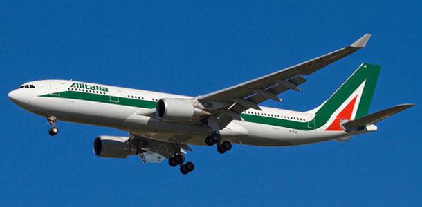 Alitalian lentokone