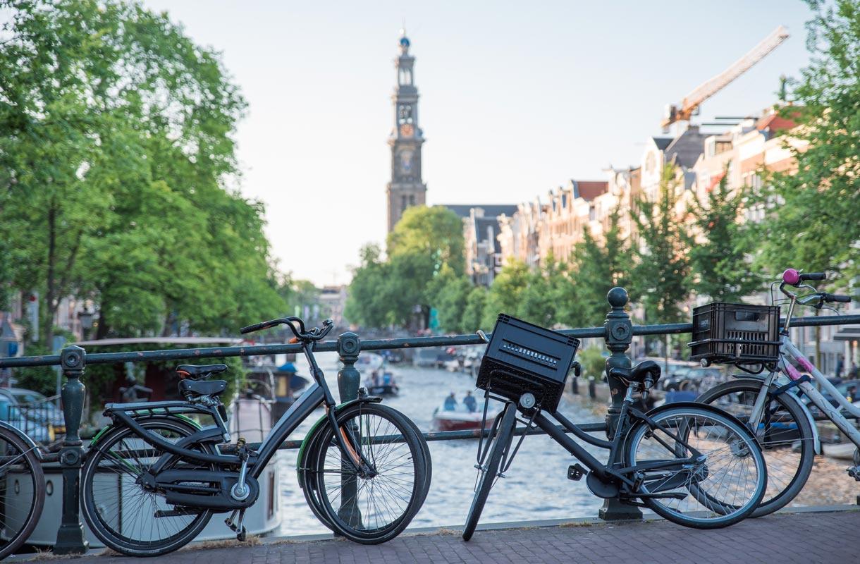Polkupyörät Amsterdamissa