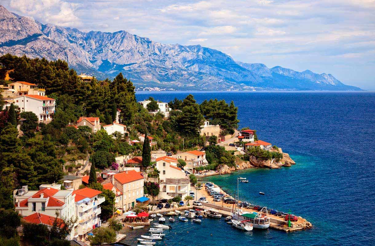 Makaraskan riviera, Kroatia