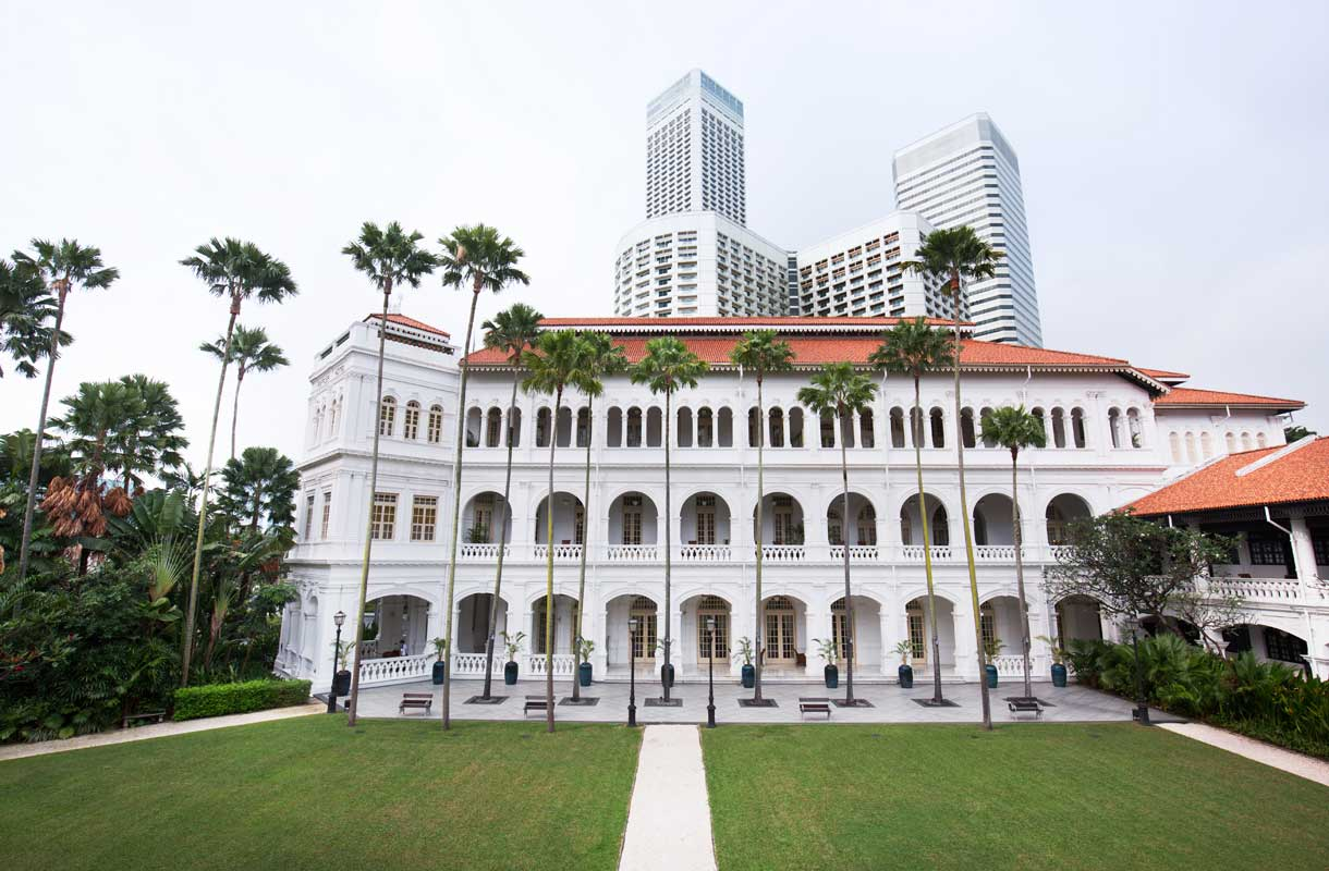Raffles-hotelli Singaporessa