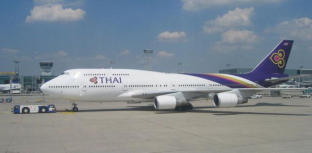 Thai Airwaysin lentokone