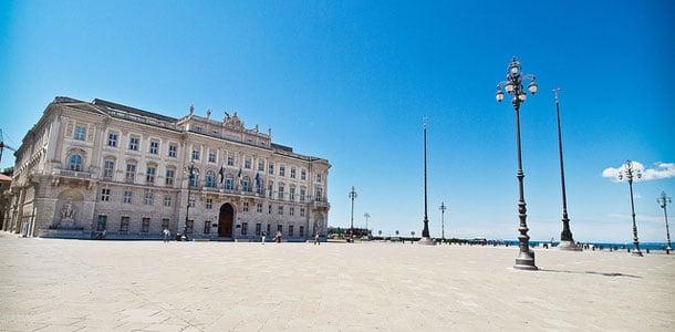 Trieste Piazza Unita d'Italia