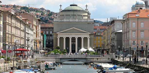Triesten kaunis kanaali