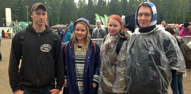 Sade kiusasi Provinssirockin päätöstä - yleisö ei antanut sään häiritä