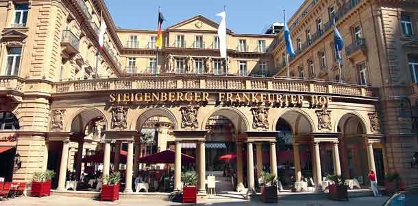 Steigenbergerin hotelli Frankfurtissa