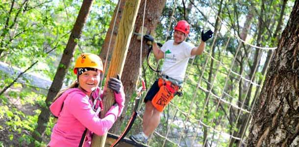 Atreenalin on uusi seikkailupuisto Lappeenrannassa