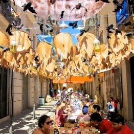Gracian kaupunginosa Barcelonassa