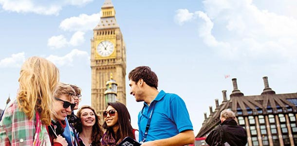 EF järjestää kielimatkoja myös Lontooseen