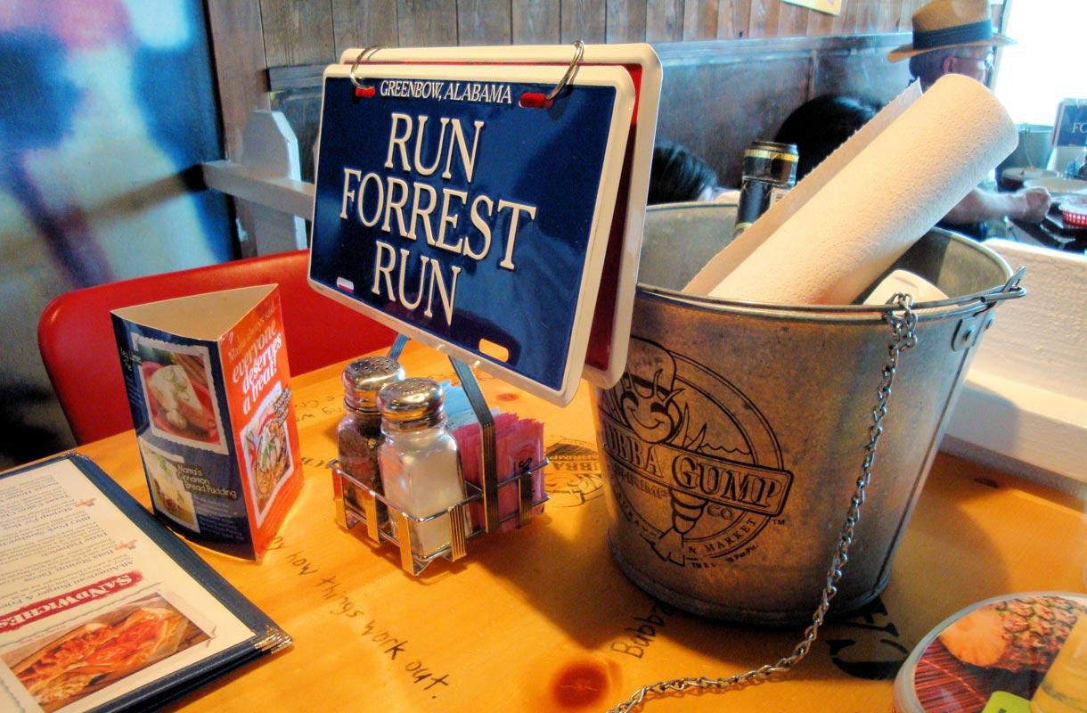 Forrest Gump -elokuva synnytti ravintolaketjun