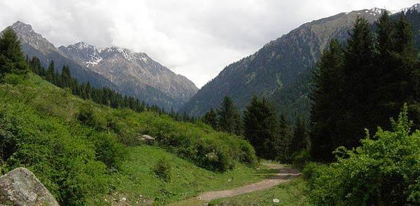 Kirgisiaa kutsutaan Keski-Aasian Sveitsiksi