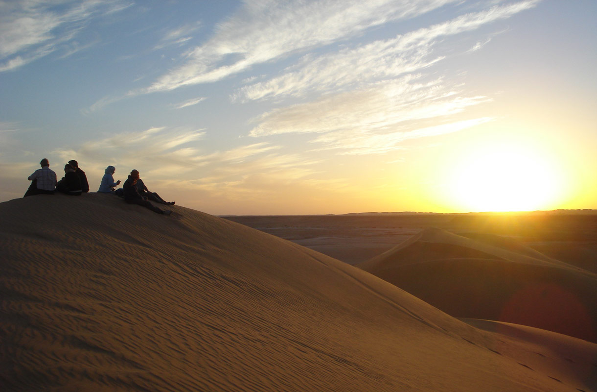 Libyan Ghadames on maailman kuumimpia paikkoja.