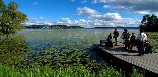 Ruotsin Sigtuna sijaitsee Mälaren-järven rannalla