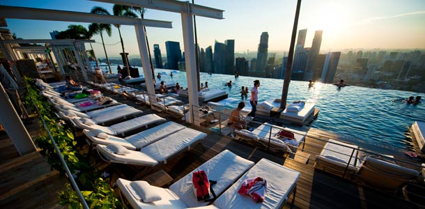 Marina Bay Sands -hotelli Singaporessa