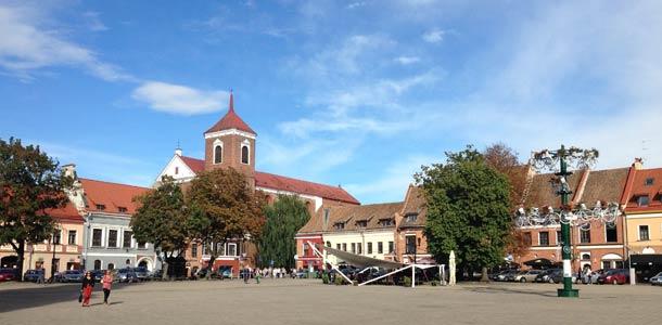 Tältä näyttää Liettuan Kaunas