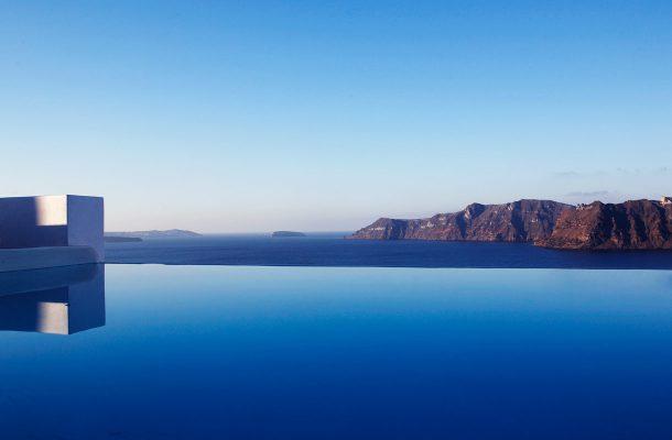 Luksushotelli Santorinin saarella