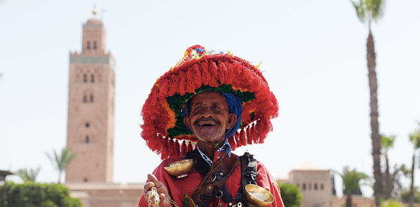 Marokkolainen perinneasu