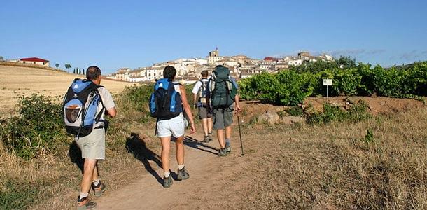 Espanjan kuuluisin vaellus Camino de Santiago